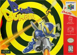 Box cover for Buck Bumble on the Nintendo N64.