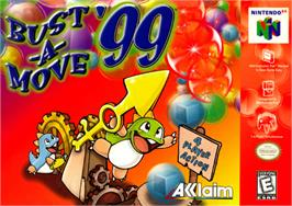 Box cover for Bust a Move '99 on the Nintendo N64.