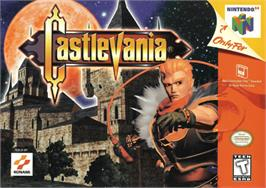 Box cover for Castlevania on the Nintendo N64.