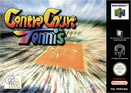 Box cover for Centre Court Tennis on the Nintendo N64.