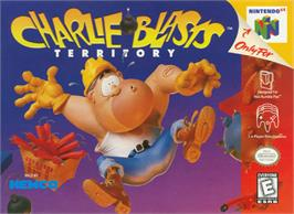 Box cover for Charlie Blast's Territory on the Nintendo N64.