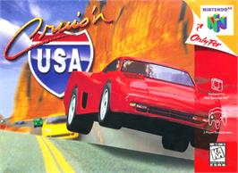 Box cover for Cruis'n USA on the Nintendo N64.