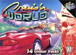 Box cover for Cruis'n World on the Nintendo N64.