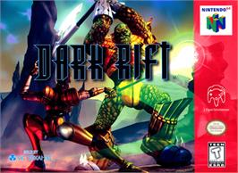 Box cover for Dark Rift on the Nintendo N64.