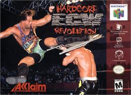 Box cover for ECW Hardcore Revolution on the Nintendo N64.