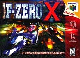 Box cover for F-Zero X on the Nintendo N64.