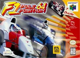 Box cover for F1 Pole Position 64 on the Nintendo N64.
