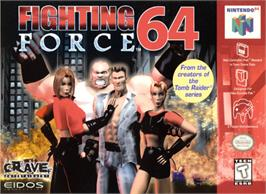 Box cover for Fighting Force 64 on the Nintendo N64.