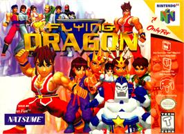 Box cover for Flying Dragon on the Nintendo N64.