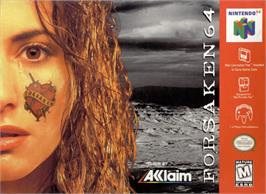 Box cover for Forsaken 64 on the Nintendo N64.
