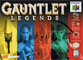 Box cover for Gauntlet Legends on the Nintendo N64.