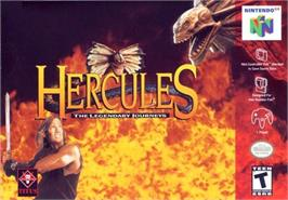 Box cover for Hercules: The Legendary Journeys on the Nintendo N64.