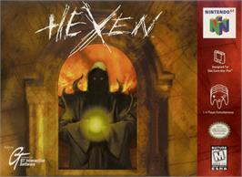 Box cover for Hexen on the Nintendo N64.
