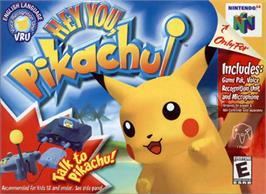Box cover for Hey You, Pikachu on the Nintendo N64.