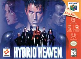 Box cover for Hybrid Heaven on the Nintendo N64.