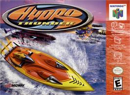 Box cover for Hydro Thunder on the Nintendo N64.