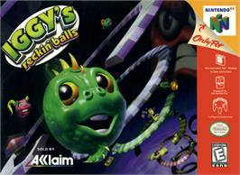 Box cover for Iggy's Reckin' Balls on the Nintendo N64.