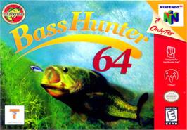 Box cover for In-Fisherman Bass Hunter 64 on the Nintendo N64.