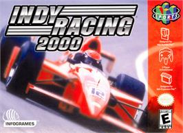 Box cover for Indy Racing 2000 on the Nintendo N64.