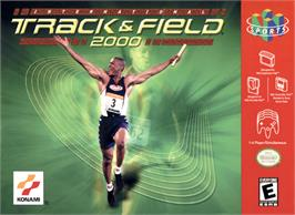 Box cover for International Track & Field 2000 on the Nintendo N64.
