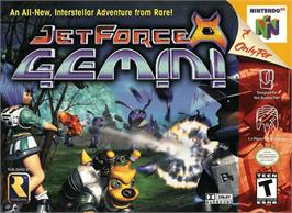 Box cover for Jet Force Gemini on the Nintendo N64.