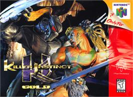 Box cover for Killer Instinct Gold on the Nintendo N64.