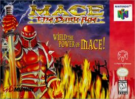 Box cover for Mace: The Dark Age on the Nintendo N64.