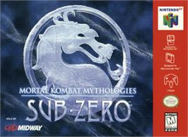 Box cover for Mortal Kombat Mythologies: Sub-Zero on the Nintendo N64.