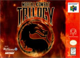 Box cover for Mortal Kombat Trilogy on the Nintendo N64.
