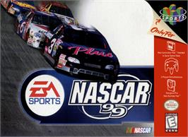 Box cover for NASCAR 99 on the Nintendo N64.