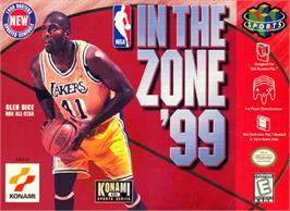 Box cover for NBA: In the Zone '99 on the Nintendo N64.