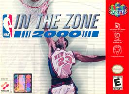 Box cover for NBA: In the Zone 2000 on the Nintendo N64.