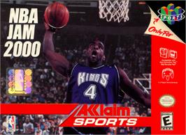 Box cover for NBA Jam 2000 on the Nintendo N64.