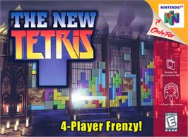 Box cover for New Tetris on the Nintendo N64.