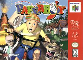 Box cover for Paperboy on the Nintendo N64.