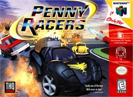 Box cover for Penny Racers on the Nintendo N64.