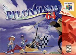 Box cover for Pilotwings 64 on the Nintendo N64.