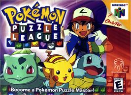 Box cover for Pokemon Puzzle League on the Nintendo N64.