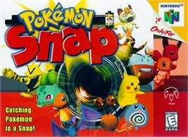 Box cover for Pokemon Snap on the Nintendo N64.