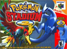 Box cover for Pokemon Stadium 2 on the Nintendo N64.