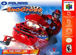 Box cover for Polaris SnoCross on the Nintendo N64.