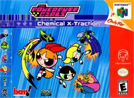 Box cover for Powerpuff Girls: Chemical X-Traction on the Nintendo N64.