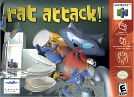 Box cover for Rat Attack on the Nintendo N64.