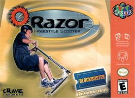 Box cover for Razor Freestyle Scooter on the Nintendo N64.