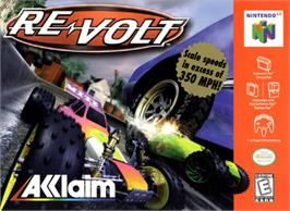 Box cover for Re-Volt on the Nintendo N64.