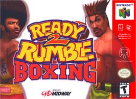 Box cover for Ready 2 Rumble Boxing on the Nintendo N64.