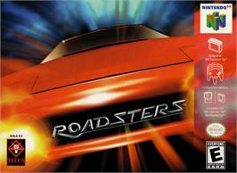Box cover for Roadsters: Trophy on the Nintendo N64.