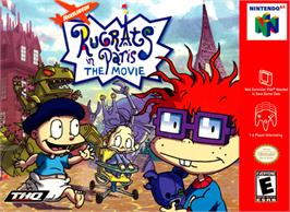 Box cover for Rugrats in Paris: The Movie on the Nintendo N64.