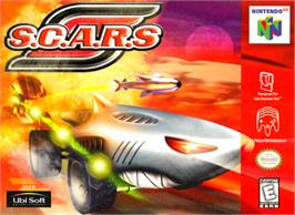 Box cover for S.C.A.R.S. on the Nintendo N64.