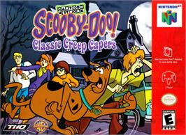 Box cover for Scooby Doo! Classic Creep Capers on the Nintendo N64.